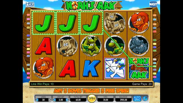 игровой автомат Noah's Ark 3