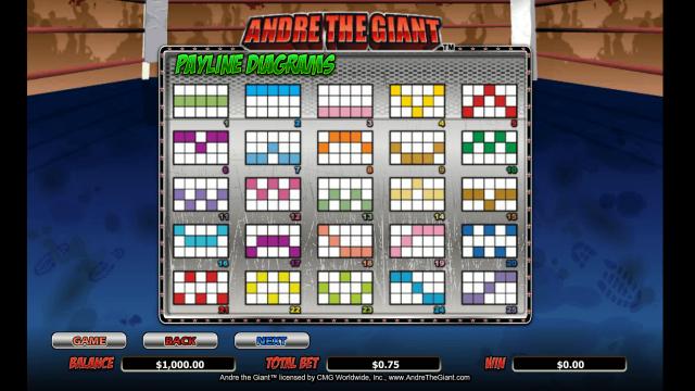 игровой автомат Andre The Giant 7