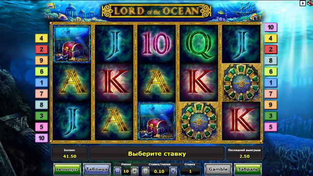 популярный слот Lord Of The Ocean 10
