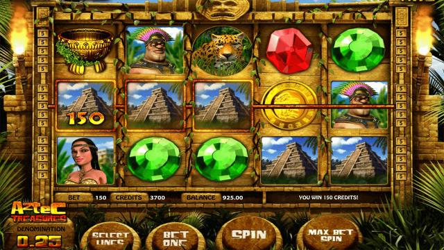 популярный слот Aztec Treasures 3D 3