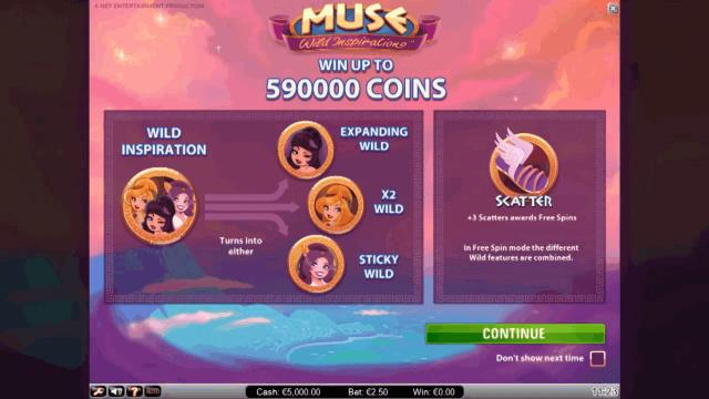 игровой автомат Muse 1