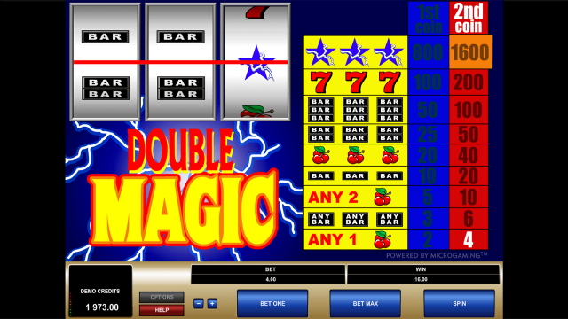онлайн аппарат Double Magic 9