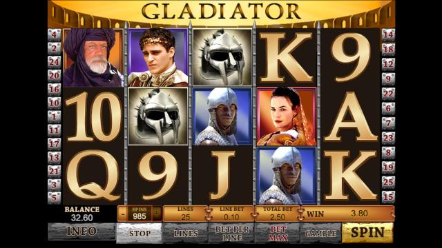 популярный слот Gladiator 5
