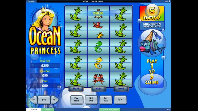 игровой автомат Ocean Princess 5
