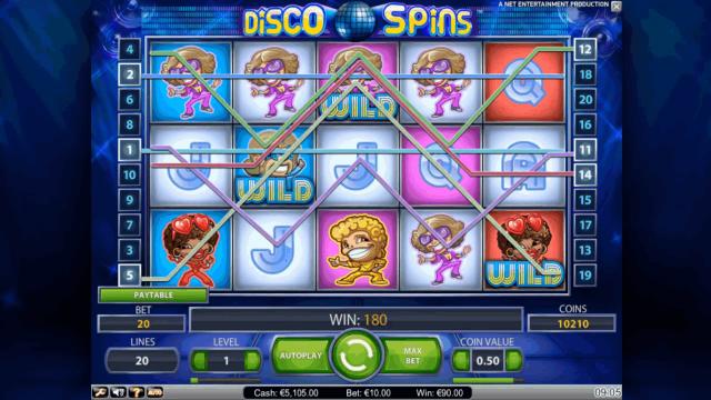 игровой автомат Disco Spins 4