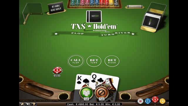 популярный слот TXS Hold'em Pro Series 4
