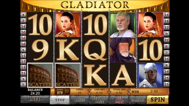 популярный слот Gladiator 6