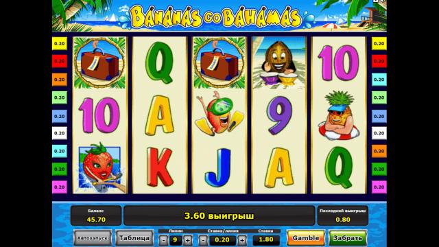 популярный слот Bananas Go Bahamas 10