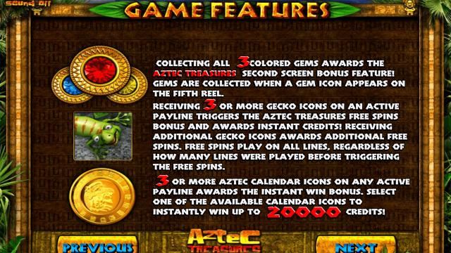 популярный слот Aztec Treasures 3D 7