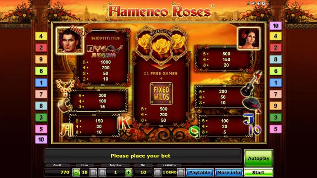 онлайн аппарат Flamenco Roses 9