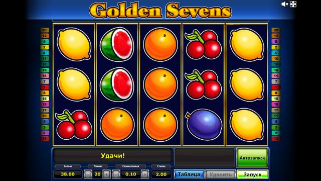 популярный слот Golden Sevens 8