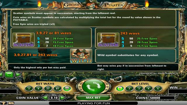 игровой автомат Ghost Pirates 2