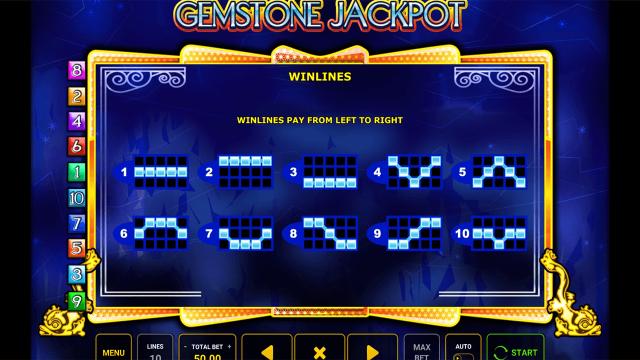 игровой автомат Gemstone Jackpot 8