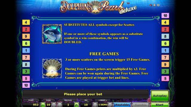 игровой автомат Dolphin's Pearl Deluxe 1