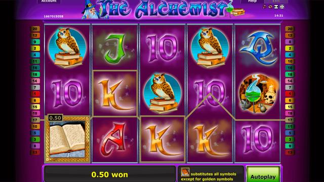 популярный слот The Alchemist 10