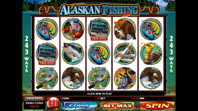 игровой автомат Alaskan Fishing 8