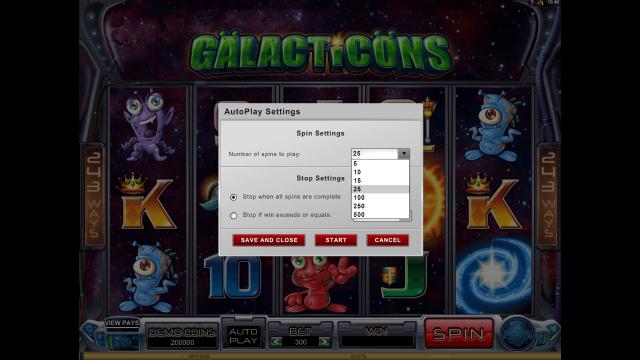 онлайн аппарат Galacticons 7