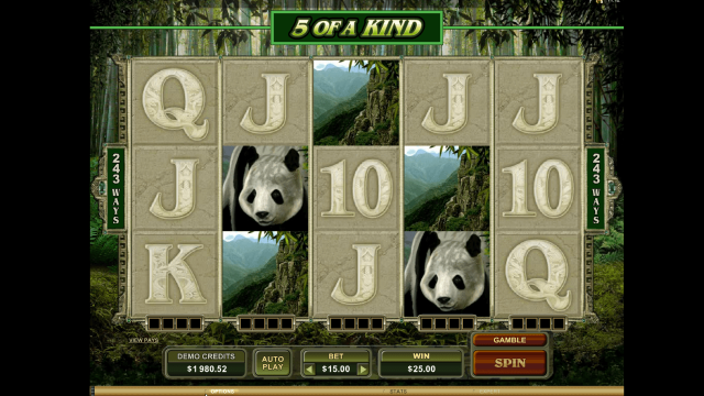 онлайн аппарат Untamed Giant Panda 9
