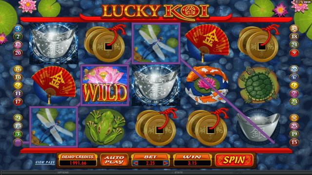 игровой автомат Lucky Koi 9