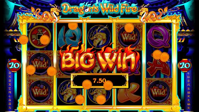 онлайн аппарат Dragon's Wild Fire 1