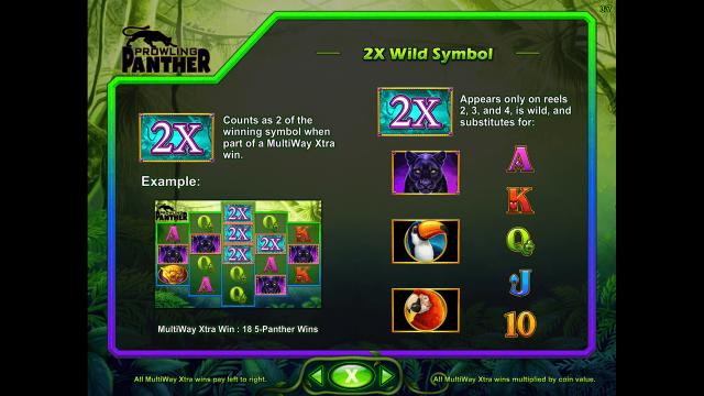 игровой автомат Prowling Panther 6