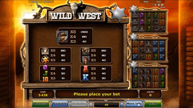 онлайн аппарат Wild West 2