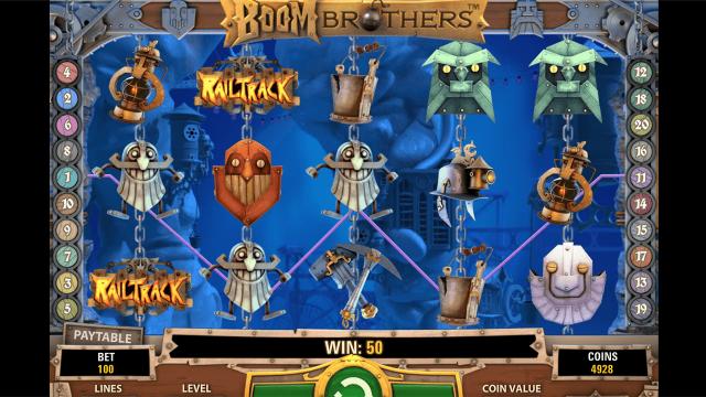 игровой автомат Boom Brothers 4