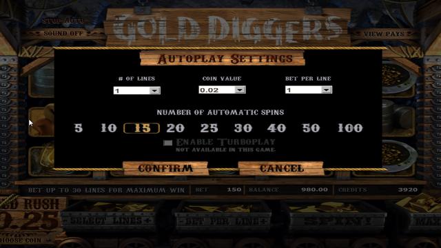 игровой автомат Gold Diggers 1