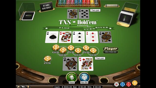 игровой автомат TXS Hold'em Pro Series 9