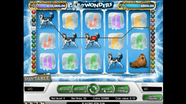 популярный слот Icy Wonders 7