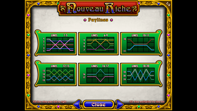 игровой автомат Nouveau Riche 5