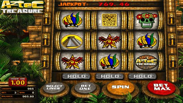 популярный слот Aztec Treasure 2D 7