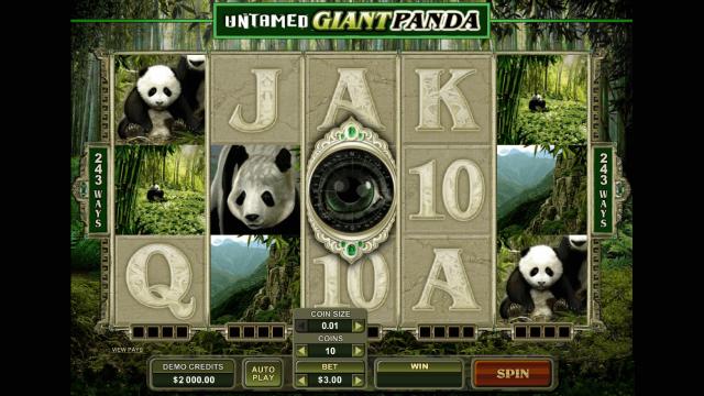 популярный слот Untamed Giant Panda 2