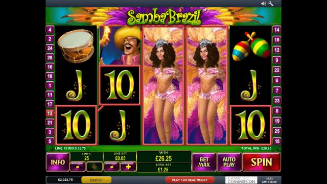 игровой автомат Samba Brazil 7