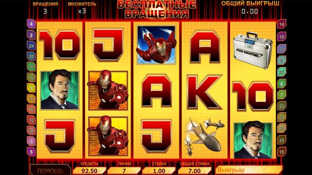 популярный слот Iron Man 8