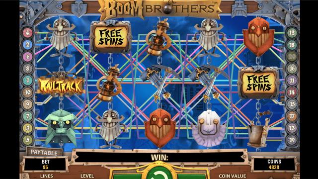 игровой автомат Boom Brothers 5