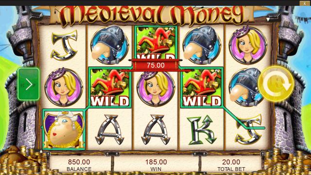 популярный слот Medieval Money 5