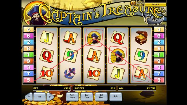 онлайн аппарат Captain's Treasure 6