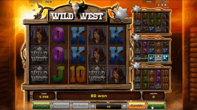 игровой автомат Wild West 6