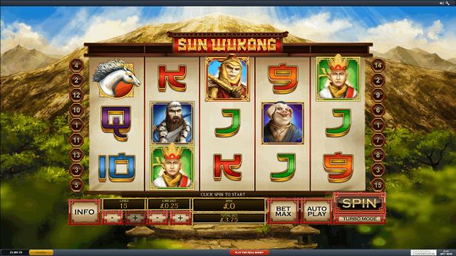 игровой автомат Sun Wukong 2