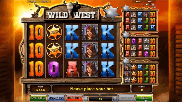 игровой автомат Wild West 1