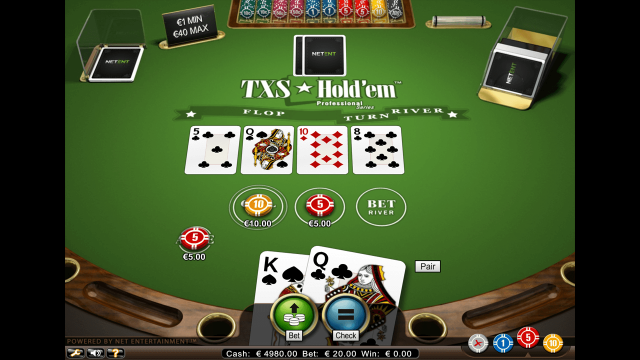 онлайн аппарат TXS Hold'em Pro Series 6