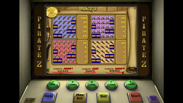 игровой автомат Pirate 2 3