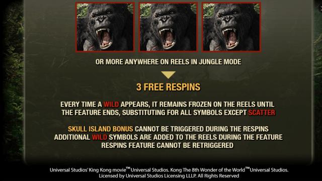 игровой автомат King Kong 8