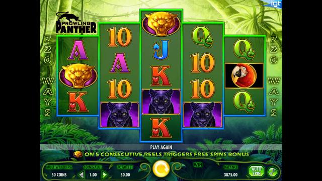 игровой автомат Prowling Panther 3