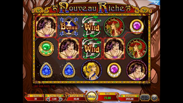 популярный слот Nouveau Riche 2