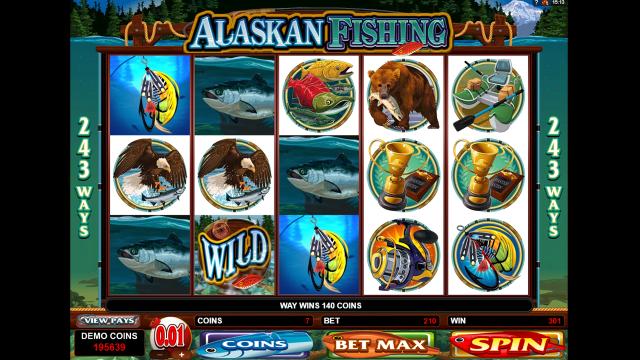 игровой автомат Alaskan Fishing 6