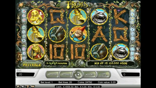 игровой автомат Trolls 8
