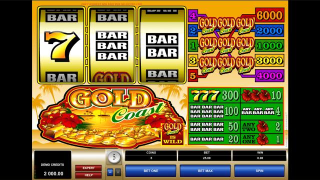 игровой автомат Gold Coast 1