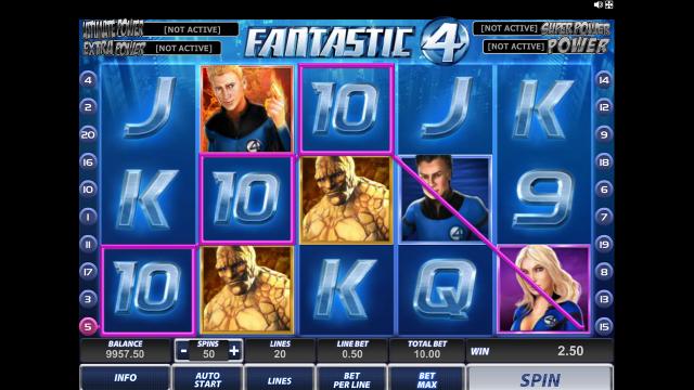 онлайн аппарат Fantastic Four 12